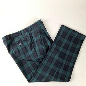 Polo University Ralph Lauren Plaid Wool Dress Pant